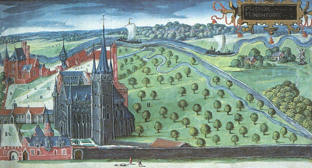 L'abbaye d'Hasnon
