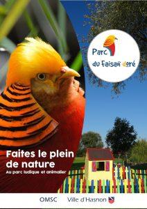 Le Parc du Faisan doré à Hasnon. Parc de loisir gratuit situé dans la Porte du Hainaut. Parc animalier et aire de jeux gratuite.