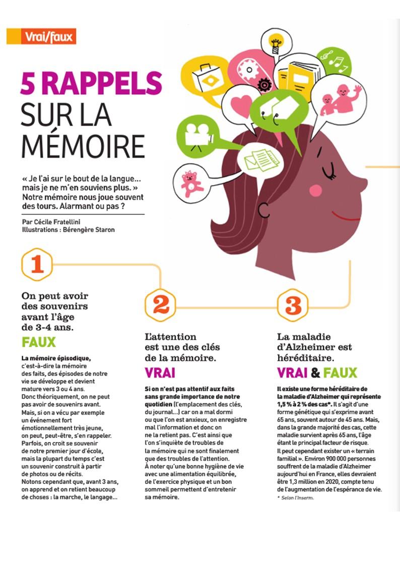 Harmonie mutuelle. Article sur la mémoire.